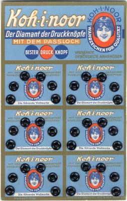 Patentky KOH-I-NOOR 1920